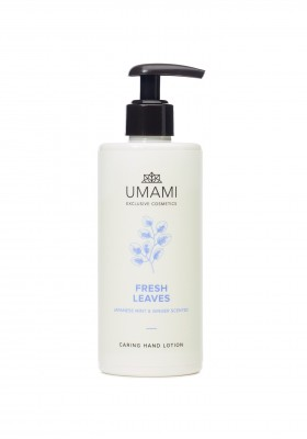Umami Fresh Leaves Jap.munt&gember Hand Lot. 300ml