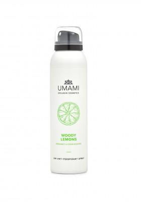 Umami Woody Lemons Berg.&ced.a/pers.spray 24h150ml