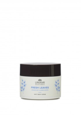 Umami Fresh Leaves Jap.munt&gember Body Scrub250ml