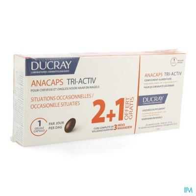 Ducray Anacaps Tri-activ Caps 3x30