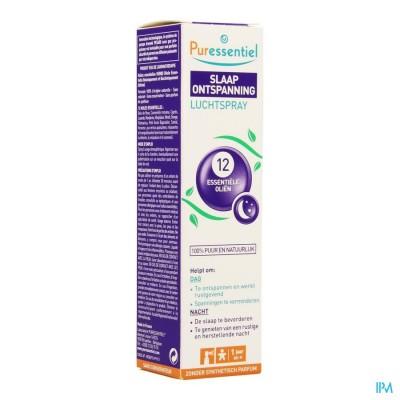 Puressentiel Slaap Ontspan.spray 12 Ess Olie 75ml