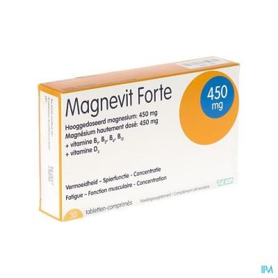 Magnevit Forte 450mg Tabl 30