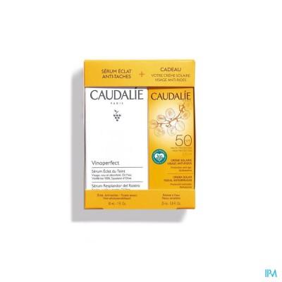 Caudalie Set Vinoperfect Serum+zon Cr 2 Prod.