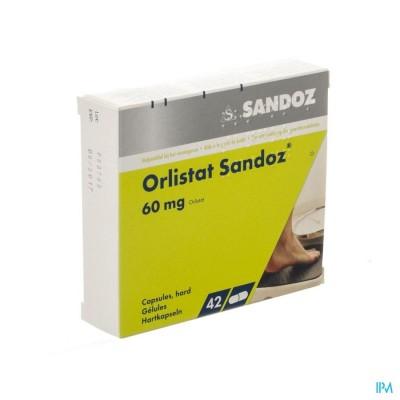 Orlistat Sandoz Harde Caps 42 X 60mg