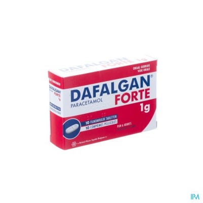 Dafalgan Forte Filmomh Comp 10 X 1000mg