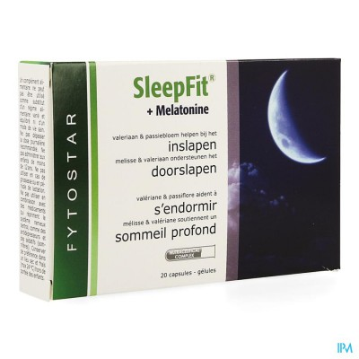 Fytostar Sleep Fit Total Caps 20