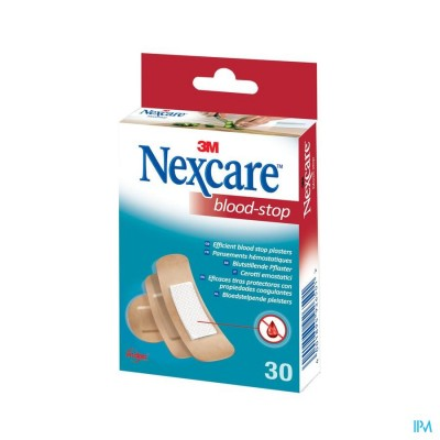 Nexcare 3m Bloodstop Assorted 30 N1730as
