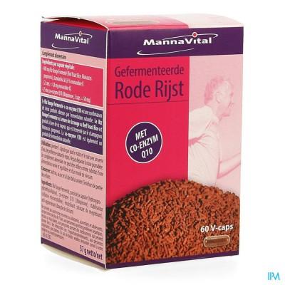Mannavital Rode Rijst Gefermenteerd+co Enzyme Q10