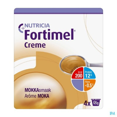 Fortimel Creme Moka 4x125g