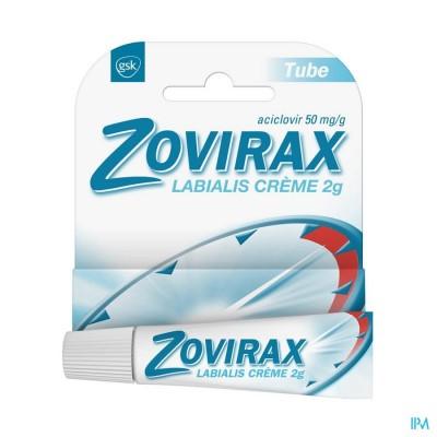 Zovirax Labialis Tube Creme 2g
