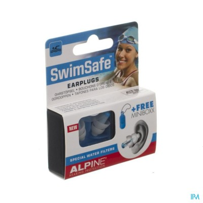 Alpine Swimsafe Oordoppen New 1p