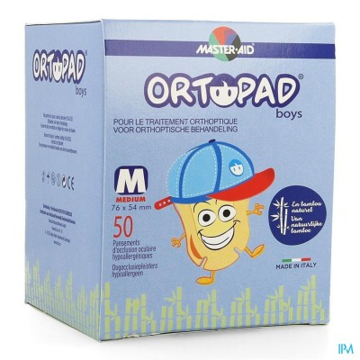 Ortopad For Boys Medium Oogkompres 50 73322