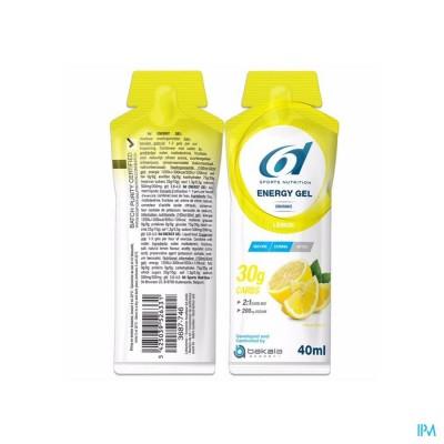 6d Sixd Energy Gel Lemon 40g