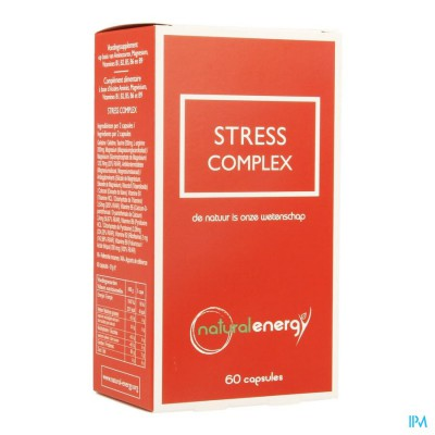 Stress Complex Natural Energy Caps 60