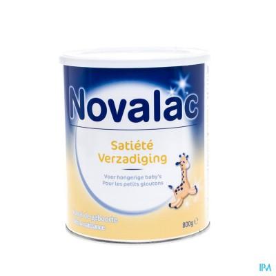 Novalac Verzadiging 0-12m Zuigelingenmelk Pdr 800g