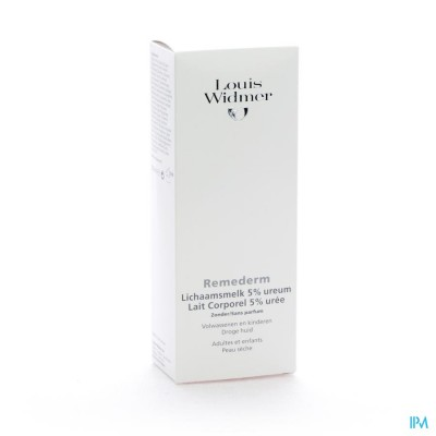 Widmer Remederm Lichaamsmelk N/parf Zdh 200ml