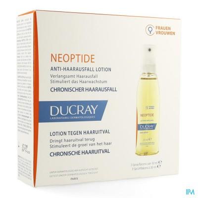 Ducray Neoptide Tegen Haaruitval Lotion 3x30ml