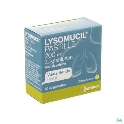 Lysomucil 200 Comp A Sucer - Zuigtabletten 20