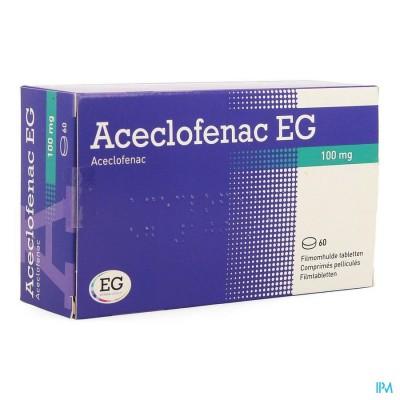 Aceclofenac Eurogenerics 100mg Film.tabl 60x100mg