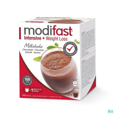Modifast Milkshake Chocola Zakje 9