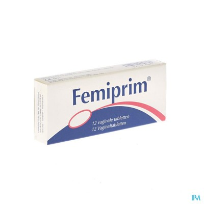 Femiprim Vaginale Comp 12x250mg