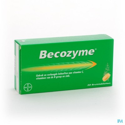 Becozyme Comp Eff - Bruistabl 30