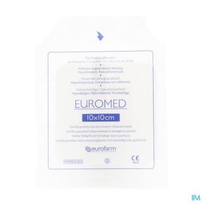 Euromed 10x10cm 1 Eilandpleister Steriel