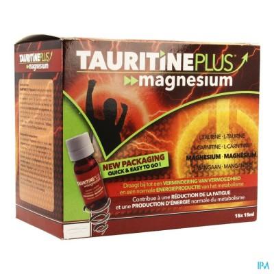 Tauritine Plus Magnesium Amp 15x15ml Credophar