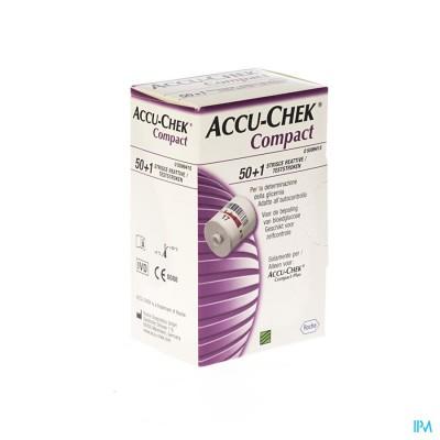 Accu Chek Compact Strips Glucose 3x17 5599415171