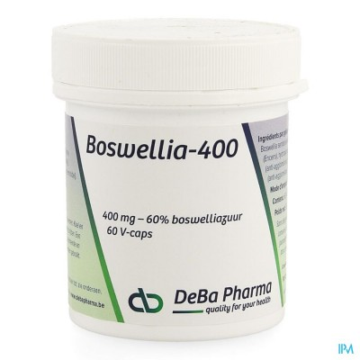 Boswellia Extract 400mg Caps 60 Deba