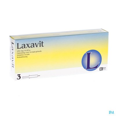 Laxavit Micro Enema Inj 3x12ml