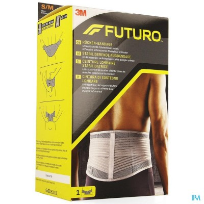 Futuro Stabiliserende Rugbandage 46815, Small - Medium