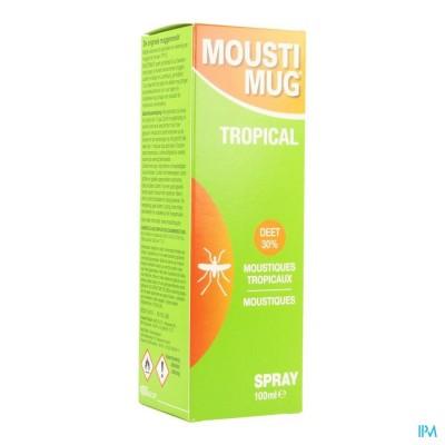 Moustimug Tropical 30% Deet Spr.100ml
