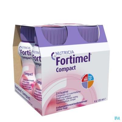 Fortimel Compact Aardbei 4x125ml