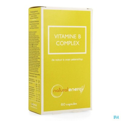 Vitamine B Complex Natural Energy Caps 60