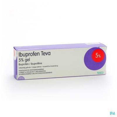 Ibuprofen Teva Gel Tube 120g