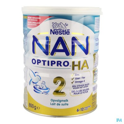 Nan Optipro Ha2 Melkpdr 800g