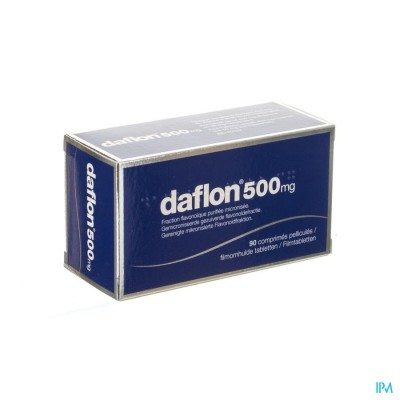 Daflon 500 Comp 90 X 500mg