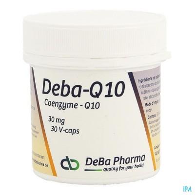 Coenzyme Q10 Caps 30x30mg Deba