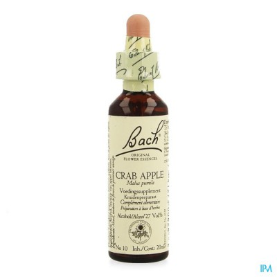 Bach Flower Remedie 10 Crab Apple 20ml