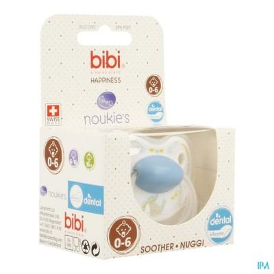 Bibi Fopspeen Hp Dental Noukie Bao&wapi 0- 6m