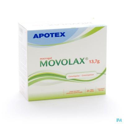 Movolax 13,7 Poeder Zakjes Opl 20