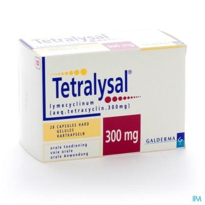 Tetralysal Caps 28 X 300mg