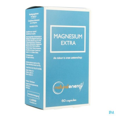 Magnesium Extra Natural Energy Caps 60