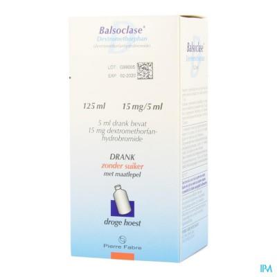 Balsoclase Dextrometorphan 125ml