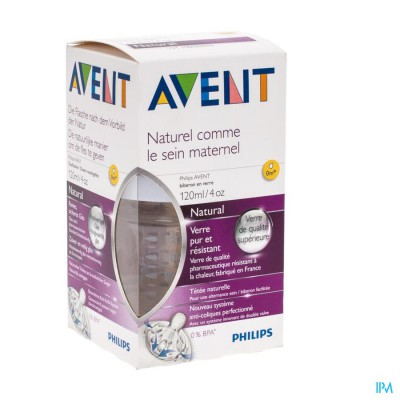 Avent Zuigfles Glas 120ml