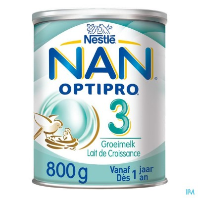 NAN Optipro 3 Groeimelk 800g