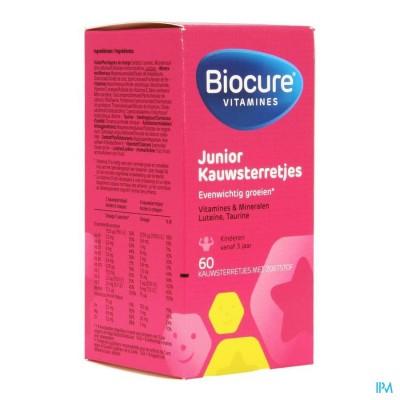 Biocure Junior Kauwsterretjes 60