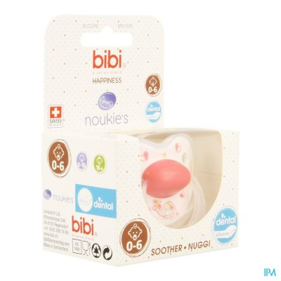 Bibi Fopspeen Hp Dental Noukie Anna&pili 0-6m