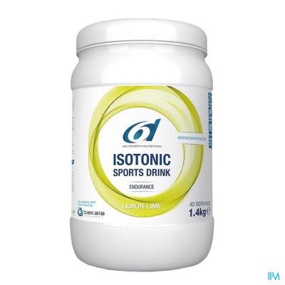 6d Sixd Isotonic Sports Drink Lemon Lime 1,4kg